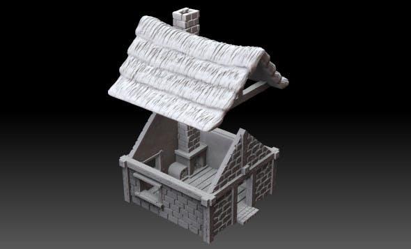 Medieval village building - 3DOcean Item for Sale