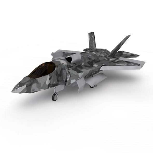 Game Model F35B War Fly - 3DOcean Item for Sale