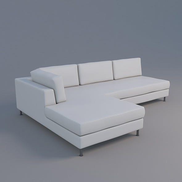 Sofa Klyne - 3DOcean Item for Sale