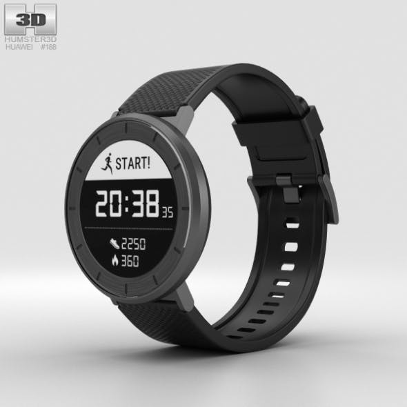 Huawei Fit Grey with Black Band - 3DOcean Item for Sale