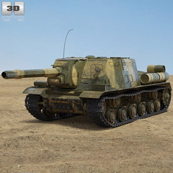 ISU-152 - 3DOcean Item for Sale
