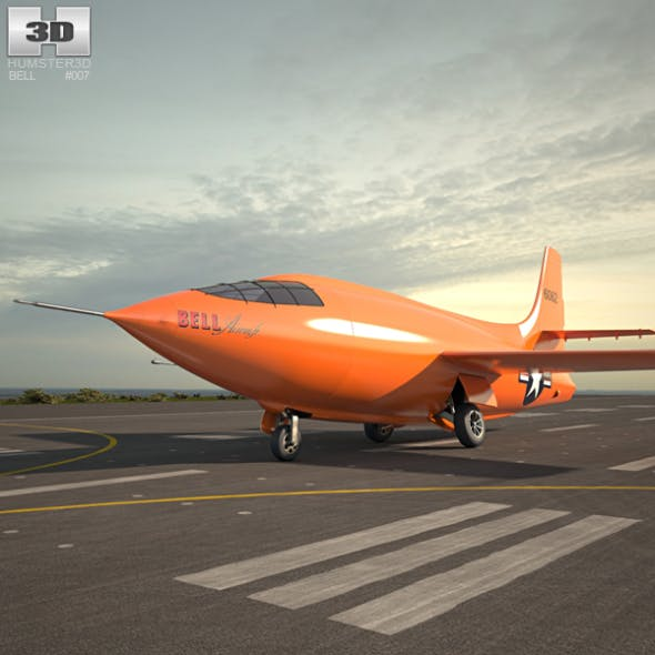 Bell X-1 - 3DOcean Item for Sale