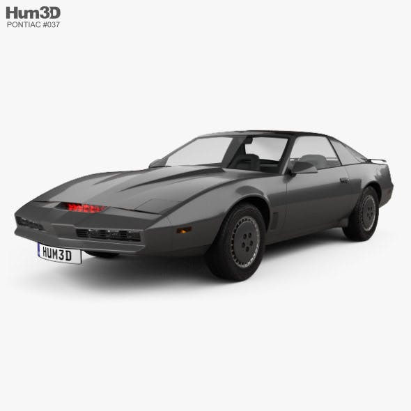 Pontiac Firebird KITT 1982 - 3DOcean Item for Sale