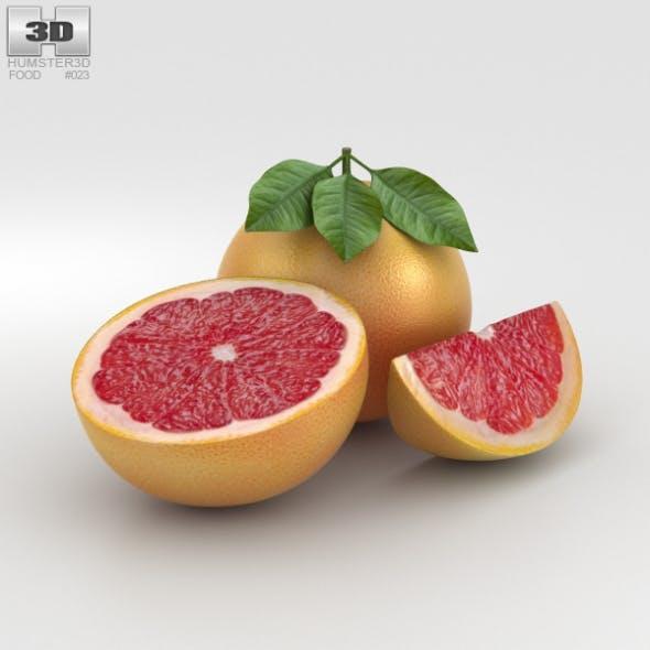 Grapefruit - 3DOcean Item for Sale