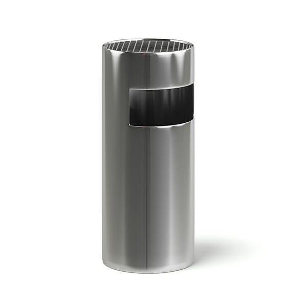 Metal Recycle Bin 3D Model - 3DOcean Item for Sale
