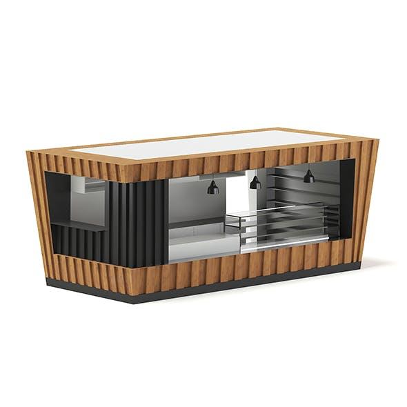 Mall Stall 3D Model