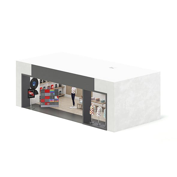 Music Gadgets Store 3D Model - 3DOcean Item for Sale