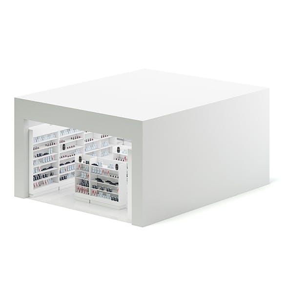 Cometics Store 3D Model