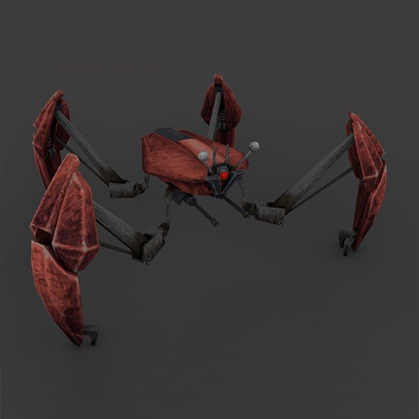 "Crab Droid ""Low-poly"""