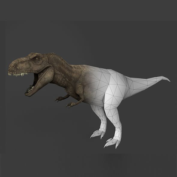 Trex 3D Model - 3DOcean Item for Sale