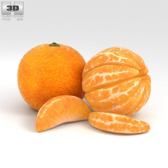 Mandarin Orange - 3DOcean Item for Sale