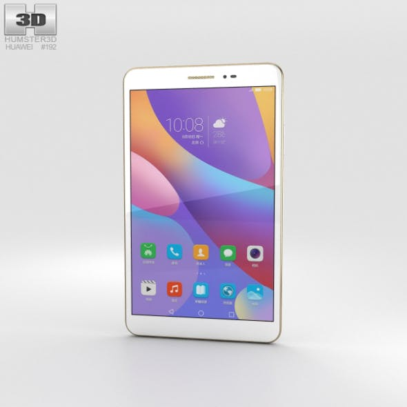 Huawei Honor Pad 2 White - 3DOcean Item for Sale