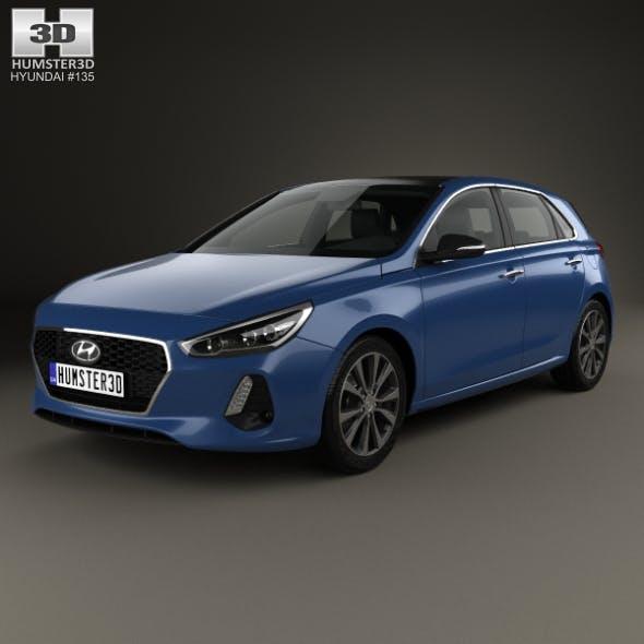 Hyundai i30 (Elantra) 5-door 2016 - 3DOcean Item for Sale