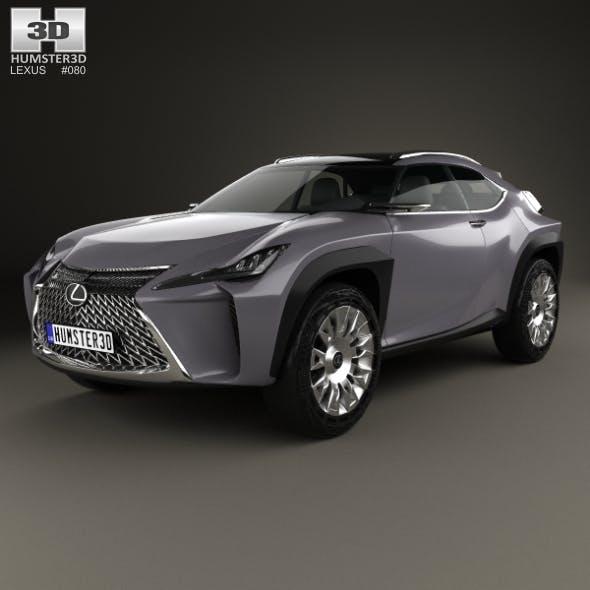 Lexus UX 2016 - 3DOcean Item for Sale
