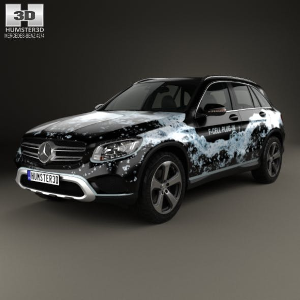 Mercedes-Benz GLC-Class (X205) F-Cell 2016 - 3DOcean Item for Sale