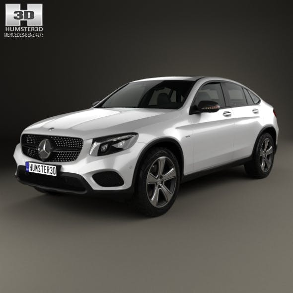 Mercedes-Benz GLC-Class (C253) Coupe 2016 - 3DOcean Item for Sale