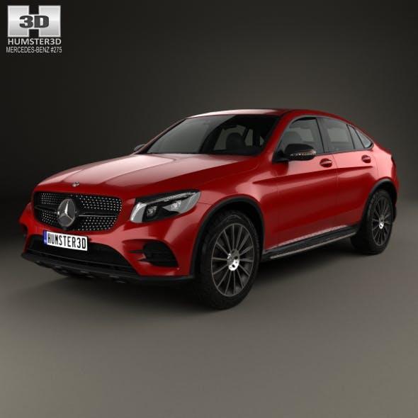 Mercedes-Benz GLC-Class (C253) Coupe AMG Line 2016