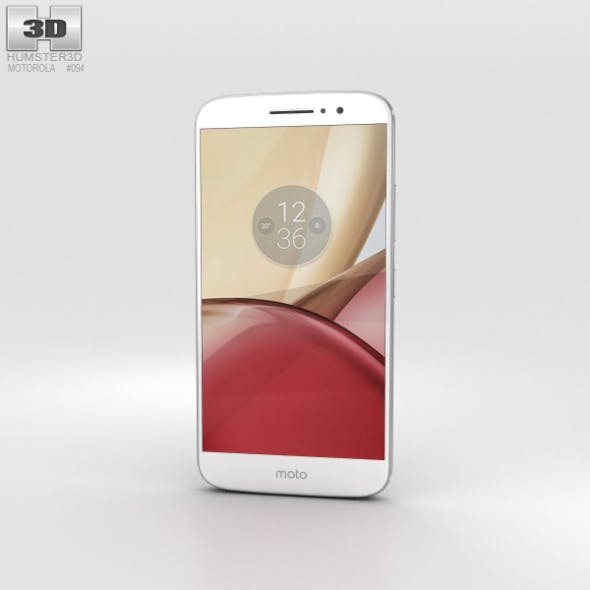 Motorola Moto M Silver - 3DOcean Item for Sale