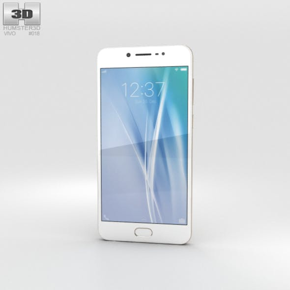 Vivo V5 Gold - 3DOcean Item for Sale
