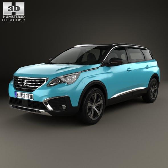 Peugeot 5008 2017 - 3DOcean Item for Sale