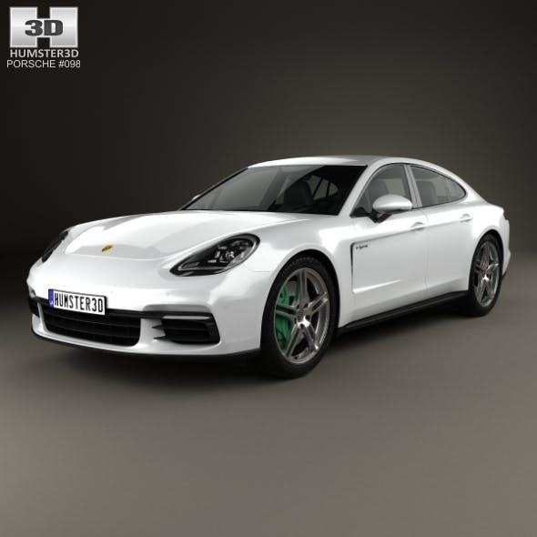 Porsche Panamera 4 E-Hybrid 2016 - 3DOcean Item for Sale