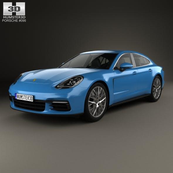 Porsche Panamera 4S 2016 - 3DOcean Item for Sale