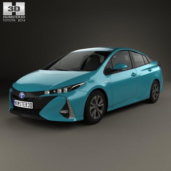 Toyota Prius Prime 2016 - 3DOcean Item for Sale