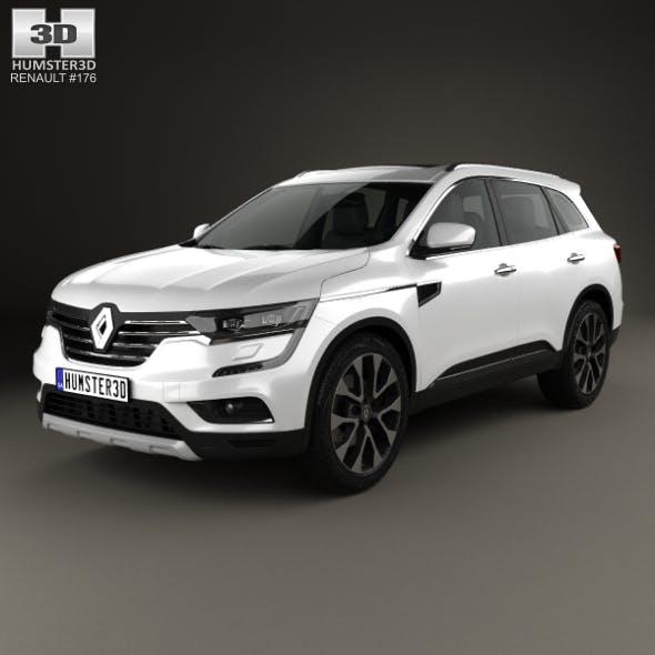 Renault Koleos 2016 - 3DOcean Item for Sale
