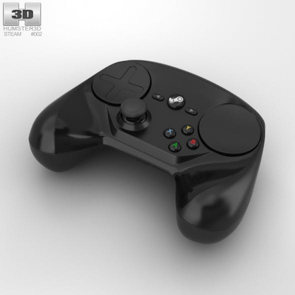 Steam Controller - 3DOcean Item for Sale