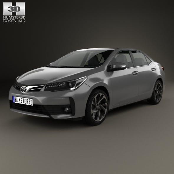 Toyota Corolla 2016 - 3DOcean Item for Sale