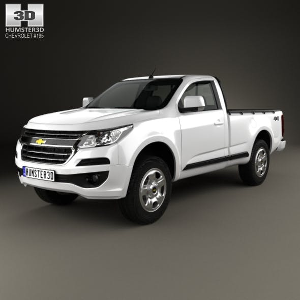 Chevrolet Colorado S-10 Regular Cab 2016 - 3DOcean Item for Sale