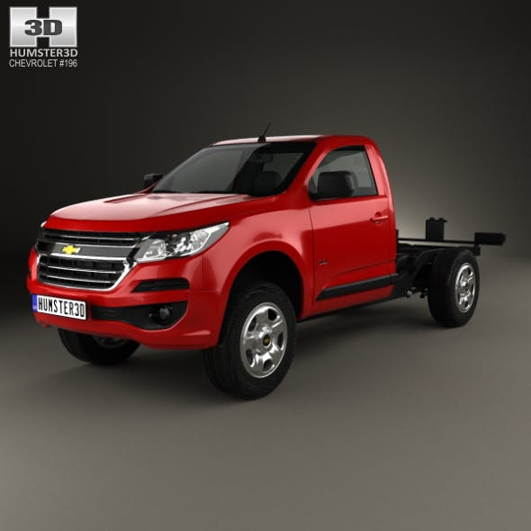 Chevrolet Colorado S-10 Regular Cab Chassis 2016 - 3DOcean Item for Sale