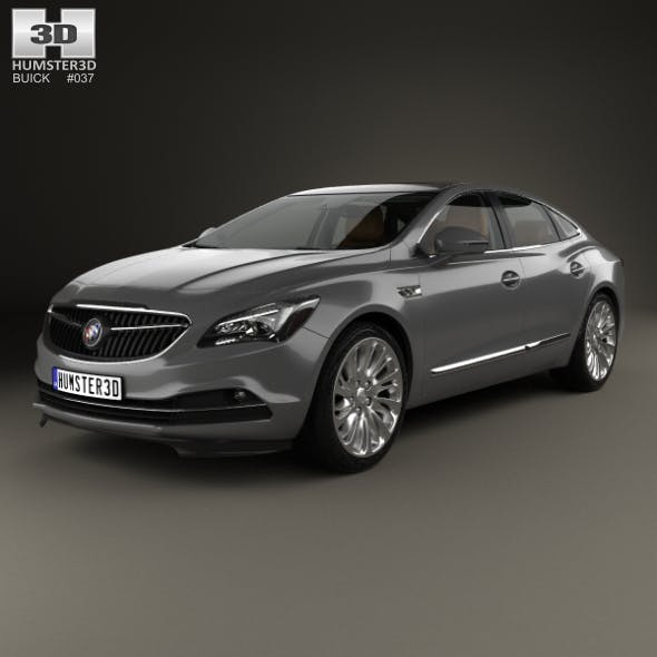 Buick LaCrosse (Allure) with HQ interior 2017 - 3DOcean Item for Sale