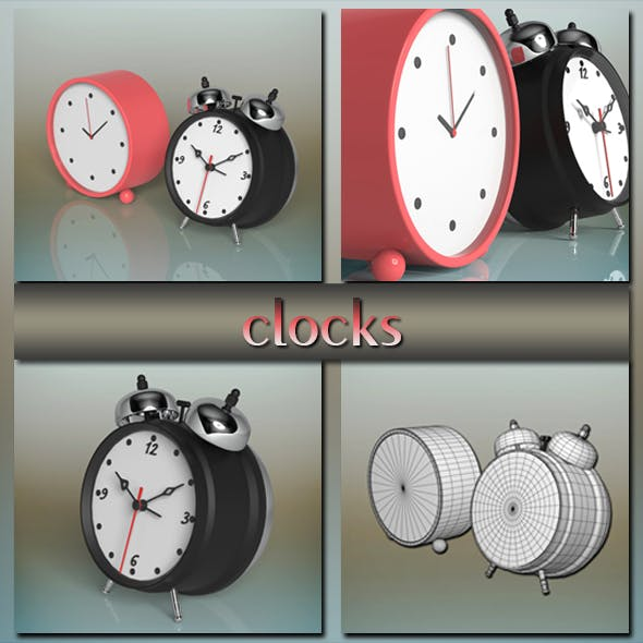 Clocks - 3DOcean Item for Sale