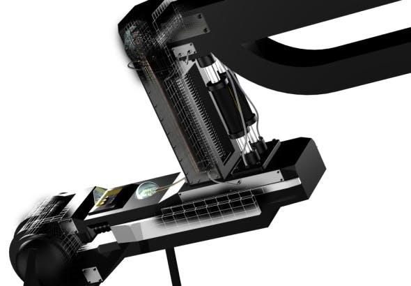 Mechanical robotic arm - 3DOcean Item for Sale