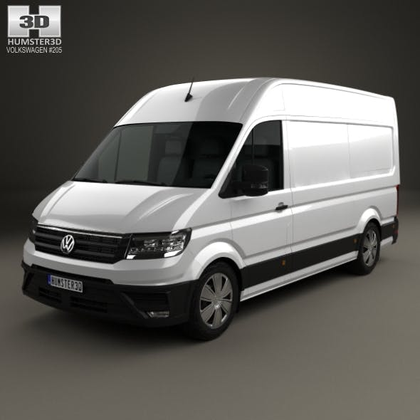 Volkswagen Crafter Panel Van L1H2 2017 - 3DOcean Item for Sale