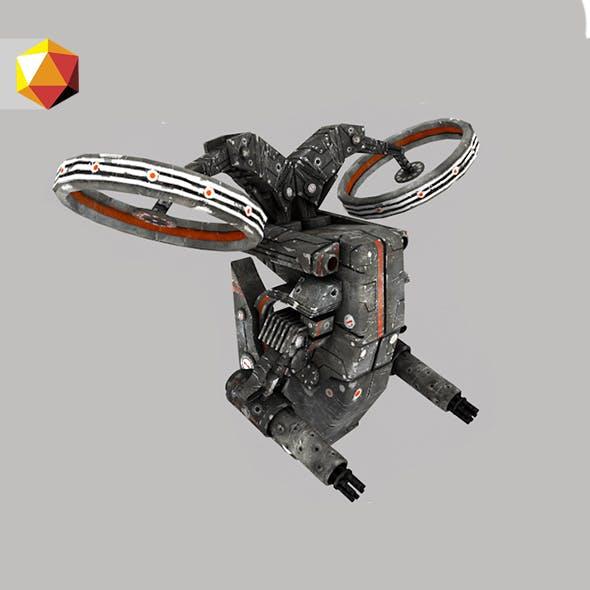 FlyingDrone - 3DOcean Item for Sale