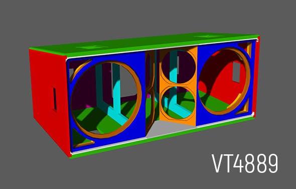 JBL VerTec VT4889 cabinet - 3DOcean Item for Sale