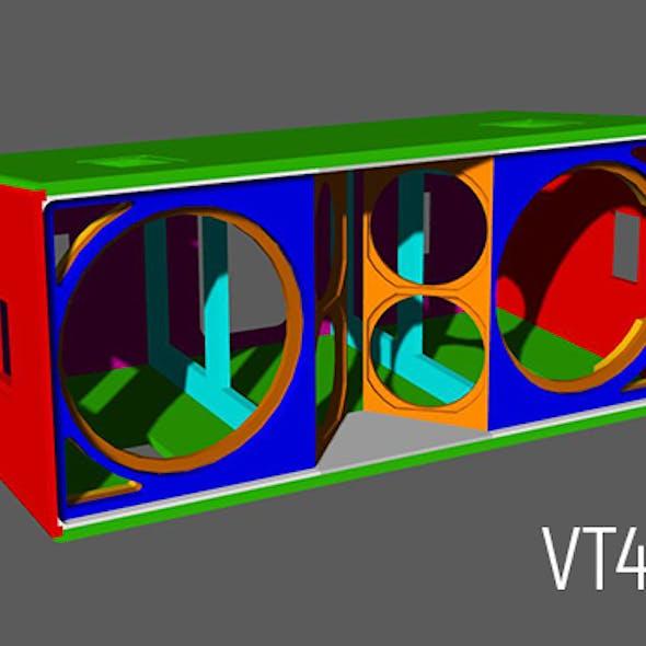 JBL VerTec VT4889 cabinet