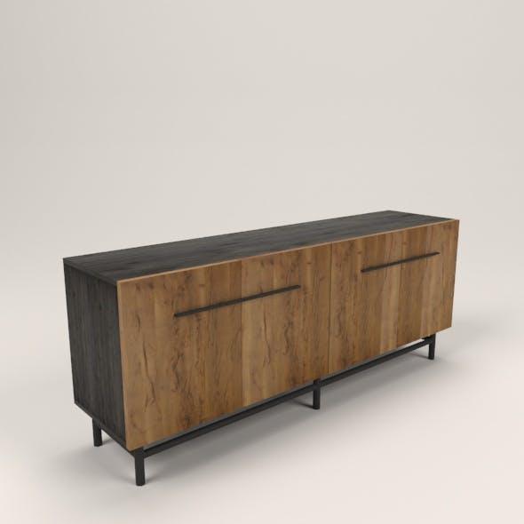 vintage sideboard - 3DOcean Item for Sale