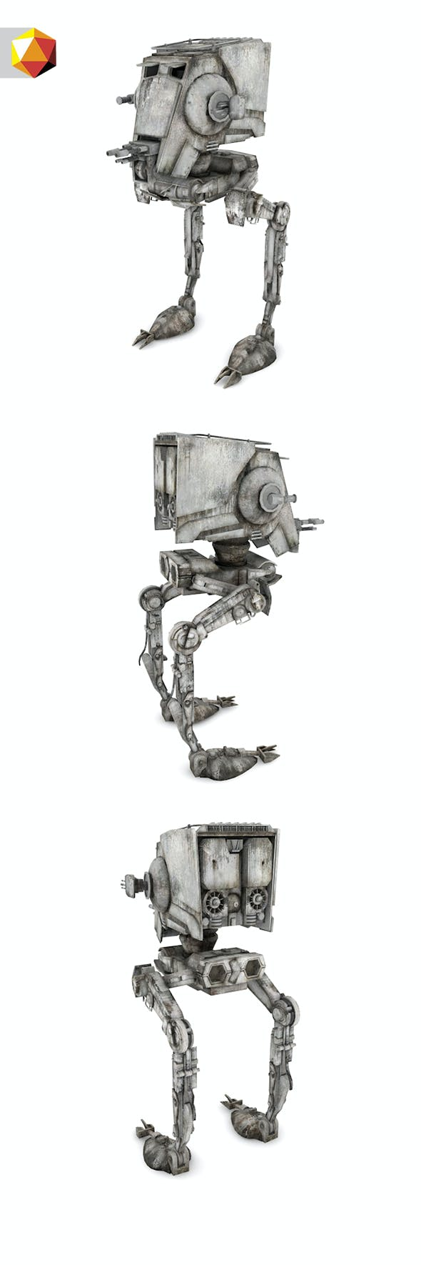 ATST 3D Model - 3DOcean Item for Sale