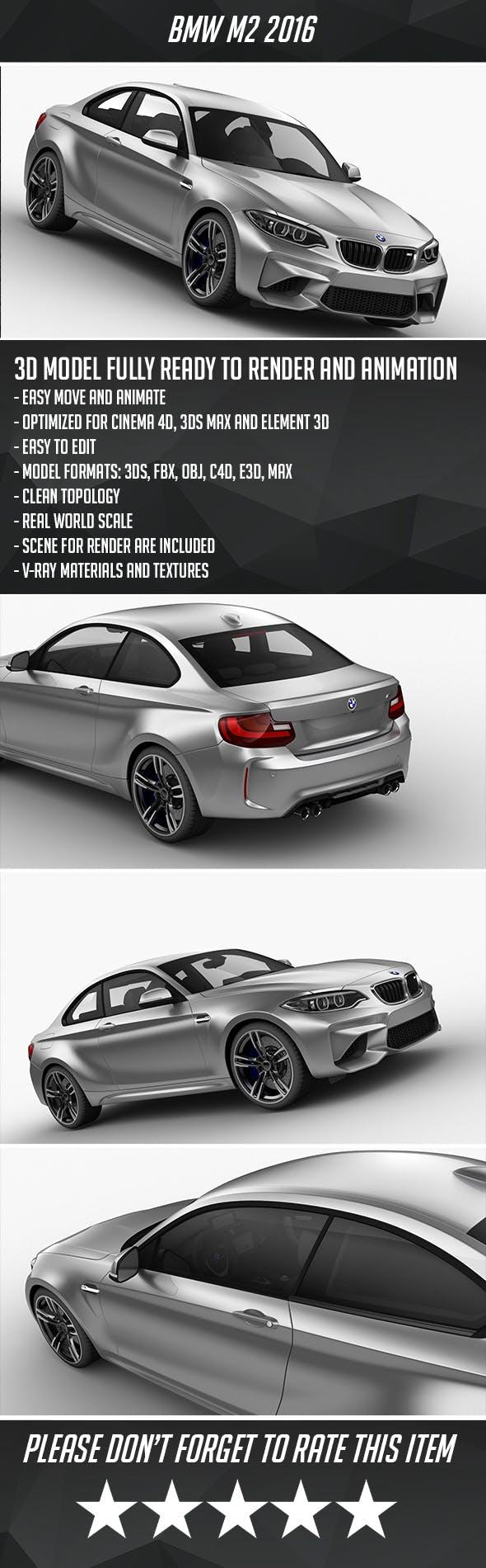 BMW M2 2016 - 3DOcean Item for Sale