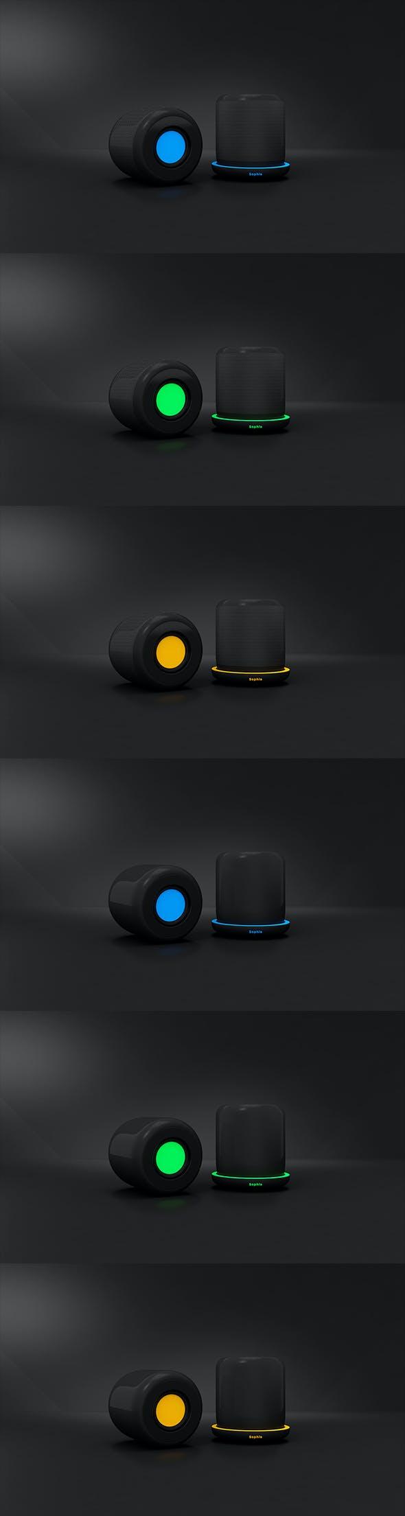 Speakers Sophia - 3DOcean Item for Sale