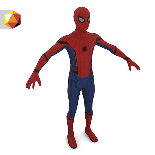 SpiderMan Character 3d Model - 3DOcean Item for Sale