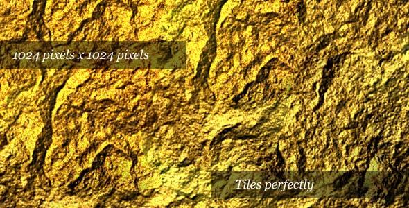 Golden Rock Texture - 3DOcean Item for Sale
