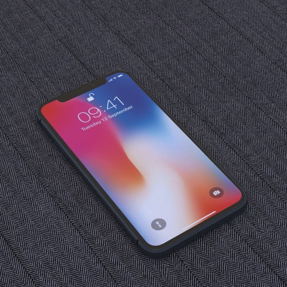 RSmodel3D - iPhone X Collection