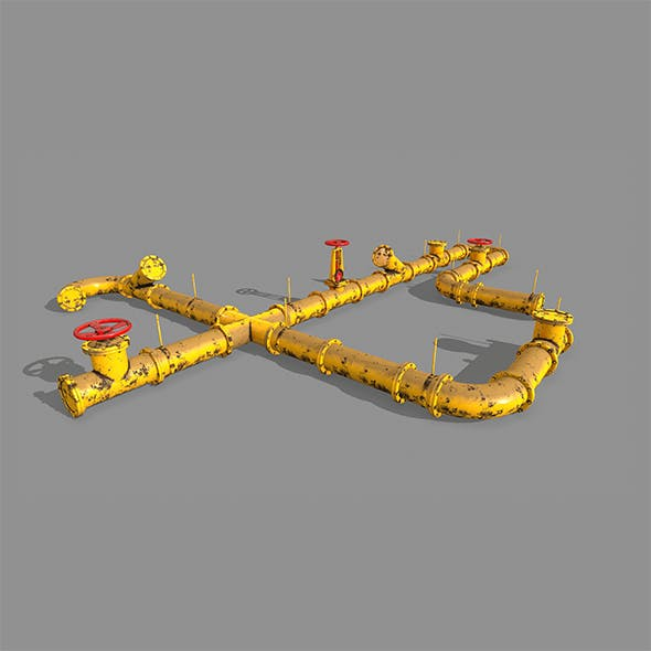 pipe set - 3DOcean Item for Sale