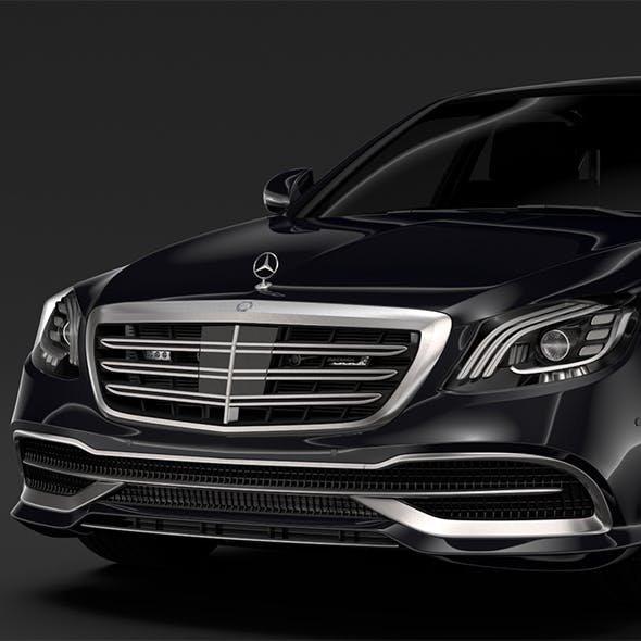 Mercedes Maybach S 650 Guard X222 2018 - 3DOcean Item for Sale