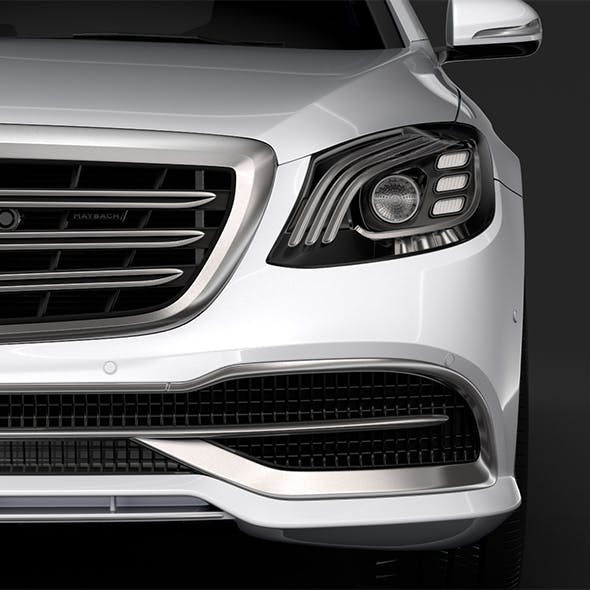 Mercedes Maybach S 650 X222 2018 - 3DOcean Item for Sale