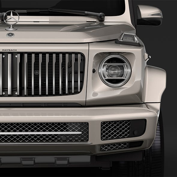 Mercedes Maybach G 600 W464 2019 - 3DOcean Item for Sale